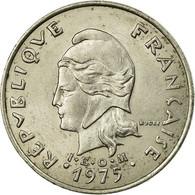Monnaie, French Polynesia, 20 Francs, 1975, Paris, TTB, Nickel, KM:9 - French Polynesia