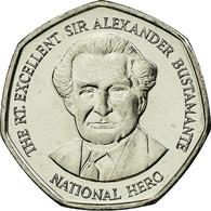 Monnaie, Jamaica, Elizabeth II, Sir Alexander Bustamante, Dollar, 1996, British - Jamaique