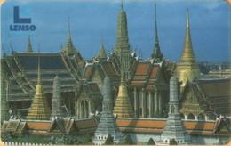 Thailand - TH-LEN-2THLETA, LENSO, Wat Phra Kaeo, Palaces, Temples, Used - Thaïlande