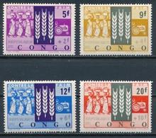 °°° CONGO - Y&T N°477/80 - 1963 MNH °°° - Repubblica Del Congo (1960-64)