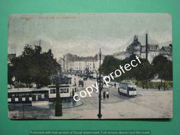 Anvers Antwerpen Place De La Commune Met Tram - Antwerpen
