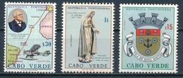 °°° CAPO CABO VERDE - Y&T N°304/36/57 - 1961/1967/1969 MNH °°° - Isola Di Capo Verde