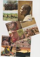 1573/ SUDAN Greetings. 3 Postcards / Cartes / Cartoline.- Non écrites. Unused. No Escritas. Non Scritte. Ungelaufen. - Soudan