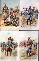 LOT  78 CPA/CPSM  FRANCE/ETRANGER - MILITARIA... UN PEU DE TOUT -  TRES BEL ETAT - - Cartes Postales