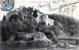 0005 -  01 - SAINT-MARTIN-du-MONT. - Chateauvieux - 1905 - Other Municipalities