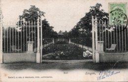 CPA   BELGIQUE---ANVERS---EDEGEM---HOF---1910 - Edegem