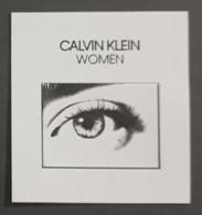CALVIN KLEIN WOMEN. TARJETA PERFUMADA. - Cartas Perfumadas