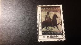 1972 Ancient Wall Painting - Ajman