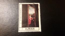 1972 Crucificixion Painting - Ajman