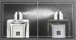 JO MALONE. PUBLICIDAD. - Cartas Perfumadas