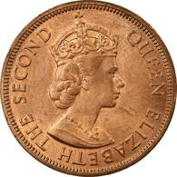 Monnaie, Etats Des Caraibes Orientales, Elizabeth II, Cent, 1965, SUP, Bronze - Territoires Britanniques Des Caraïbes