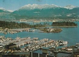 Vancouver, British Columbia A Busy Seaport With Beautiful Environs - Vancouver