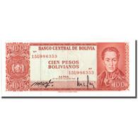 Billet, Bolivie, 100 Pesos Bolivianos, 1962, 1962-07-13, KM:164A, SUP+ - Bolivia