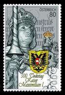 Austria 2019 Mih. 3457 Emperor Maximilian I MNH ** - 2011-... Neufs