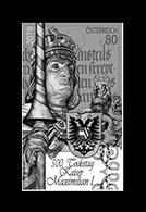 Austria 2019 Mih. 3456 Emperor Maximilian I (black Proof) MNH ** - 1945-.... 2nd Republic