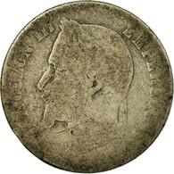 Monnaie, France, Napoleon III, Napoléon III, 50 Centimes, 1867, Paris, B - G. 50 Centimes