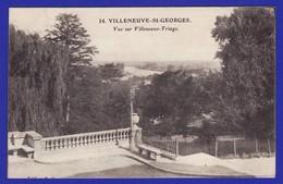 VILLENEUVE SAINT GEORGES VUE SUR VILLEUNEUVE TRIAGE ( ETAT: TRES TRES BON ) V1387 - Villeneuve Saint Georges