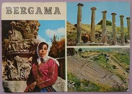 BERGAMA - Turkey - Multiview, Girl    Vg - Turquie