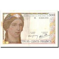 France, 300 Francs, Undated (1938), TTB, Fayette:29.1, KM:87a - 1871-1952 Antiguos Francos Circulantes En El XX Siglo