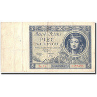 Billet, Pologne, 5 Zlotych, 1930, 1930, KM:72, TTB+ - Pologne