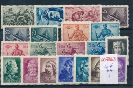 Slowakei  Lot   **   (oo7863  ) Siehe Scan - Slowakische Republik