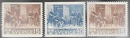 Sweden  1941  Set Of 3 MLH   2016 Scott Value $22.05 - Sweden
