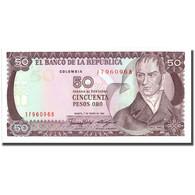 Billet, Colombie, 50 Pesos Oro, 1986, 1986-01-01, KM:425b, NEUF - Colombia
