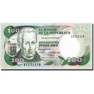Billet, Colombie, 200 Pesos Oro, 1988, 1988-11-01, KM:429d, NEUF - Colombie