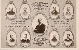 MENEN MENIN MEENEN  WETGEVENDE VERKIEZINGEN 1919 AUG.DEBUNNE - Menen