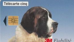 TELECARTE CINQ.....3M FIABILITE   ...PETIT TIRAGE - 5 Unités