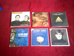 ELTON  JOHN  COLLECTION DE 6 CD SINGLES 2 TITRES - Musique & Instruments