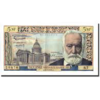 France, 5 Nouveaux Francs, Victor Hugo, 1959, 1959-07-02, SPL, Fayette:56.2 - 5 NF 1959-1965 ''Victor Hugo''