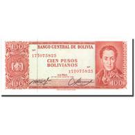 Billet, Bolivie, 100 Pesos Bolivianos, 1962, 1962-07-13, KM:164A, SPL - Bolivia