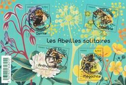 FRANCE 2016 BLOC OBLITERE LES ABEILLES SOLITAIRES - F5052 - F 5052 - - Blocks & Kleinbögen