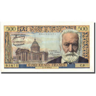 France, 500 Francs, Victor Hugo, 1954, 1954-01-07, SUP+, Fayette:35.01, KM:133a - 1871-1952 Antichi Franchi Circolanti Nel XX Secolo