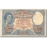 Billet, Pologne, 100 Zlotych, 1919, 1919, KM:57, TB - Pologne