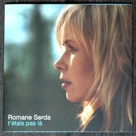 CD SINGLE COLLECTOR ROMANE SERDA RENAUD T'ETAIS PAS Là TRèS BON ETAT & RAR - Music & Instruments