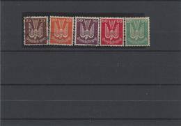Germania ,Posta Aerea ,Serie Completa (3 Usati+2 Nuovi) ,splendida - Airmail