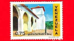 VENEZUELA - Usato - 1970 - Architettura Coloniale - Chiesa Di San Nicolas De Moruy (1969) - 0.75 - Venezuela