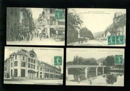 Beau Lot De 16 Cartes Postales De France  Doubs  Besançon   Mooi Lot Van 16 Postkaarten Van Frankrijk ( 25 )  - 16 Scans - Cartes Postales