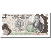 Billet, Colombie, 20 Pesos Oro, 1981, 1981-01-01, KM:409d, NEUF - Colombie