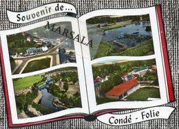 CPSM  Condé Folie  Multivues - Frankrijk