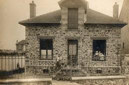 94. CPA. Photo. SAINT MAUR. La Maison De La Famille Du Photographe. Scan Du Verso. - Saint Maur Des Fosses