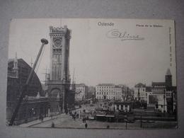 Ostende. Place De La Station. - Oostende