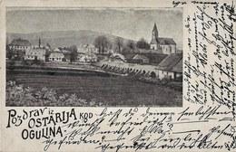 Ostarije 1899. Circulated - Croatia - Croatia