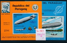 Paraguay  2 Blocks   **   (zu983  ) Siehe Scan - Paraguay