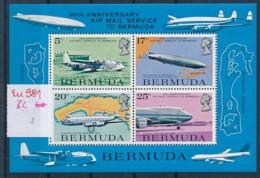 Bermuda Block Flugzeuge   **   (zu981  ) Siehe Scan - Bermuda