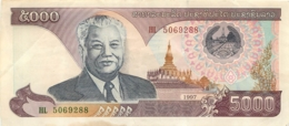 BILLET LAOS 5000 KIP - Laos
