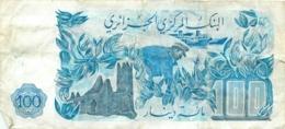 BILLET ALGERIE 100 DINARS - Algérie