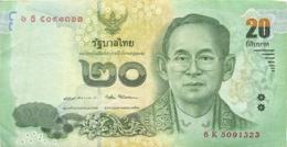 BILLET  THAILANDE 20 BATH - Thaïlande